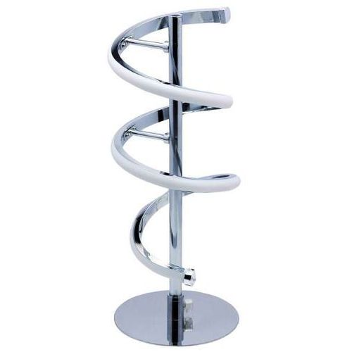 Stojąca LAMPKA nocna SIMONA 03289 Ideus metalowa LAMPA do sypialni LED 10W spirala chrom (5901477332890)