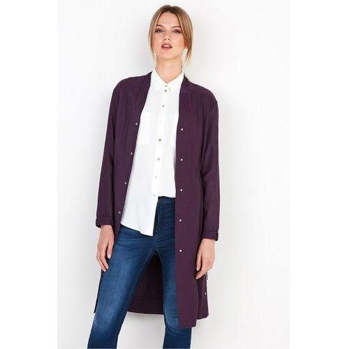 Lekki płaszcz z troczkami w talii - marki Patrizia aryton
