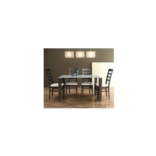 Stół nierozkładany LOBBY WHITE 80x140, B186-4923C