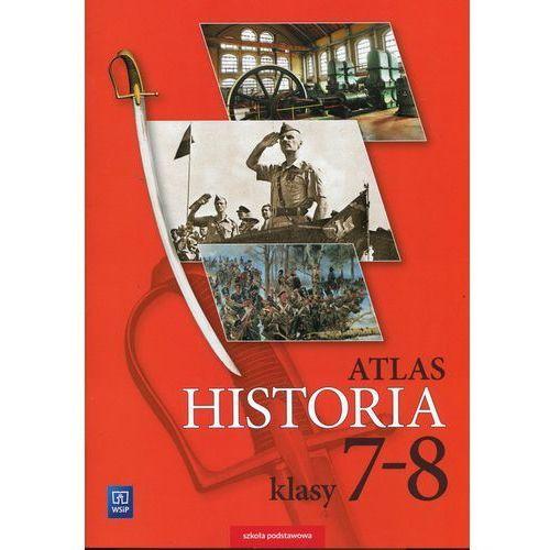 Historia Atlas 7-8 - WSiP (9788302166990)
