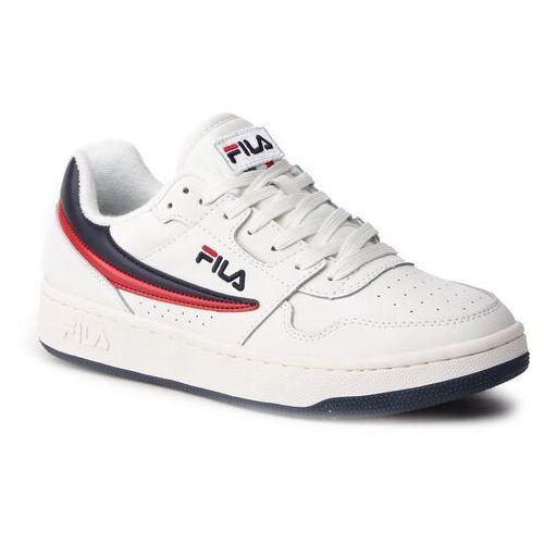 Sneakersy FILA - Arcade Low 1010583.01M White/Fila Navy/Fila Red