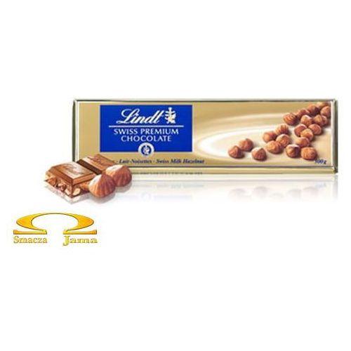 Czekolada Lindt Milk Hazelnut Gold 300g (7610400013864)