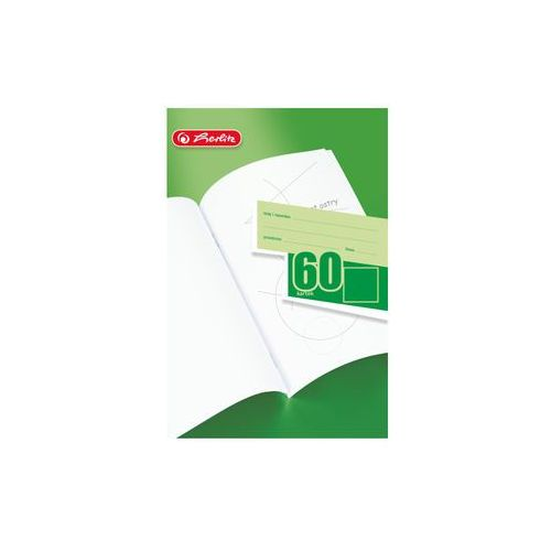 Zeszyt gładki, czysty A5, 60 kartek, A5/60,HERLITZ