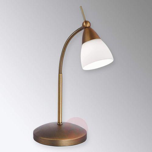 Paul Neuhaus PINO Lampa stołowa LED Mosiądz, 1-punktowy - Dworek/Antyk - Obszar wewnętrzny - PINO - Czas dostawy: od 2-4 dni roboczych (4012248289594)