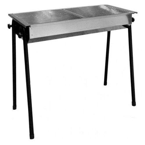 Grill na węgiel drzewny Patio | 2 x 345x345mm | 770x380x(H)760mm