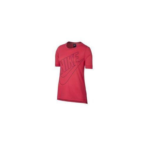 Koszulka Nike Sportswear Top Logo 872120-645, kolor czerwony