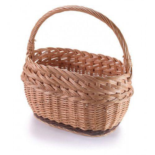 Wyroby z wikliny pph jan wnuk Wiklinowy grzybowy kosz z warkoczem piętrowy i na zakupy grzyby