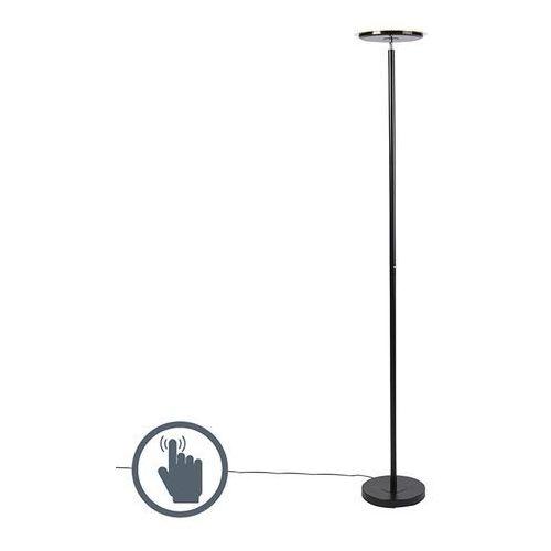 Nowoczesna lampa stojąca czarna w tym led - hanz marki Leuchten direct