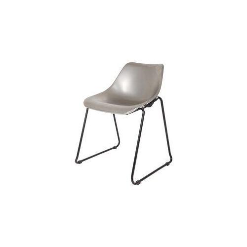 krzesło bucket srebrne 375600-s marki Woood