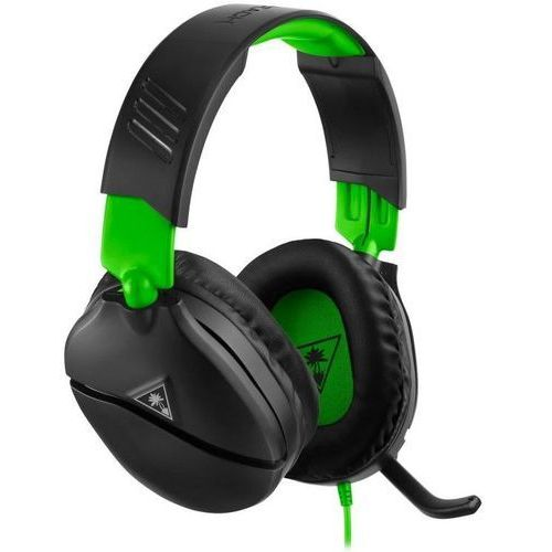 słuchawki gamingowe recon 70x, czarne (tbs-2555-02) marki Turtle beach