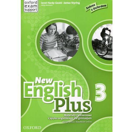 New English Plus 3 Materiały ćwiczeniowe z języka angielskiego dla gimnazjum - Praca zbiorowa (80 str.)