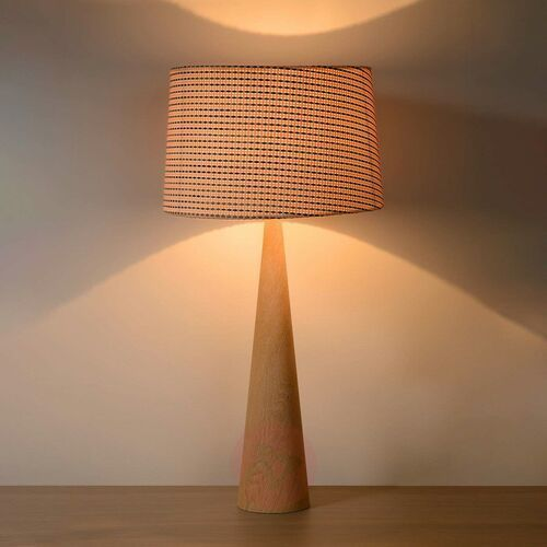 Lucide CONOS lampa stołowa Brązowy, 1-punktowy - Nowoczesny - Obszar wewnętrzny - CONOS - Czas dostawy: od 10-14 dni roboczych, 30594/81/72