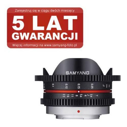 Samyang 7.5mm T3.8 UMC Fish-eye Micro 4/3 (8809298882624)