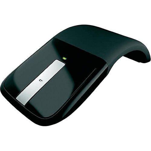 Mysz bezprzewodowa, Microsoft RVF-00050, Optyczny, 2400 dpi, Radiowa, czarny, Arc Touch Mouse