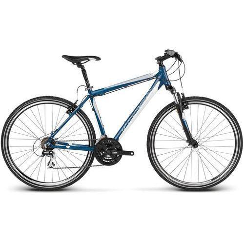 Kross Rowery trekkingowe Evado 2.0 Niebieski/Biały L (2017)