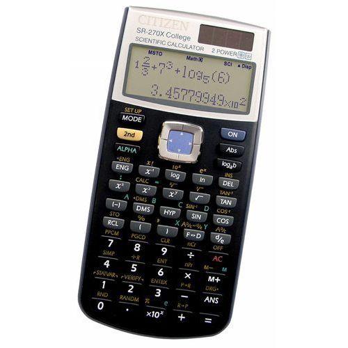 Citizen kalkulator naukowy sr-270xcfs (college) darmowa dostawa do 400 salonów !!