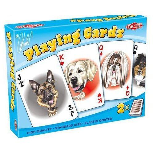 Tactic - karykatury psów - 2 talie kart - tactic od 24,99zł darmowa dostawa kiosk ruchu