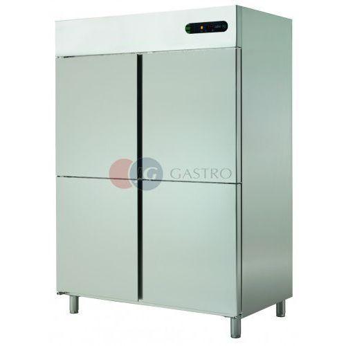 Szafa mroźnicza 4x1/2 drzwi 1400 l ECN-1404