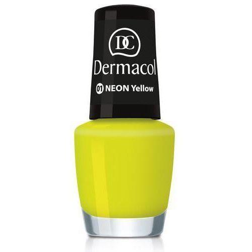 Dermacol Neon Polish 5ml W Lakier do paznokci 22 Tropéz