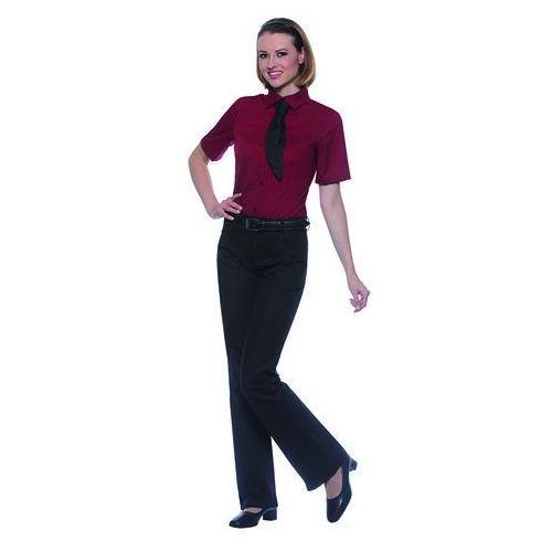 Bluzka damska z krótkim rękawem, rozmiar 50, biała | KARLOWSKY, Juli