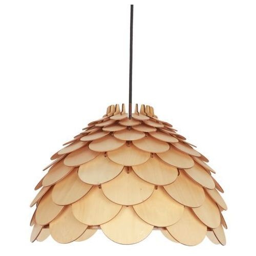 Lampa wisząca burgo brązowa e27 marki Light prestige