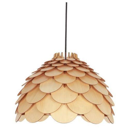 Light prestige Lampa wisząca burgo brązowa e27 (5907796365915)