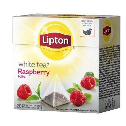 Herbata Lipton White Raspberry piramidki (20 saszetek)