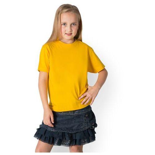 Megakoszulki Koszulka dziecięca (bez nadruku, gładka) - żółta