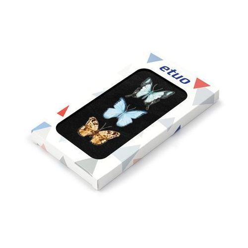 Samsung Galaxy S5 Mini - etui na telefon Flip Fantastic - kolorowe motyle, ETSM119FLFCEF004000