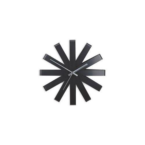 Umbra - zegar ścienny ribbon - czarny