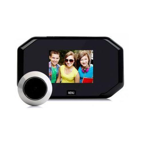 """S.t.i. ltd. Kamera ukryta w wizjerze do drzwi (judaszu) + kolorowy monitor z lcd 3"""" + zapis obrazu..."""