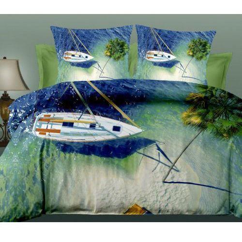 Pościel 3D - Jacht Palmy Ocean - FPW 252-04 - 160x200 3 cz., FPW 252-04