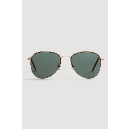 - okulary aviator marki Mango man