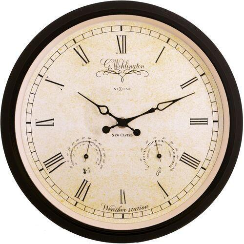 Nextime Zegar ścienny - stacja pogodowa wehlington weather station 25 cm (2969) (8717713001492)