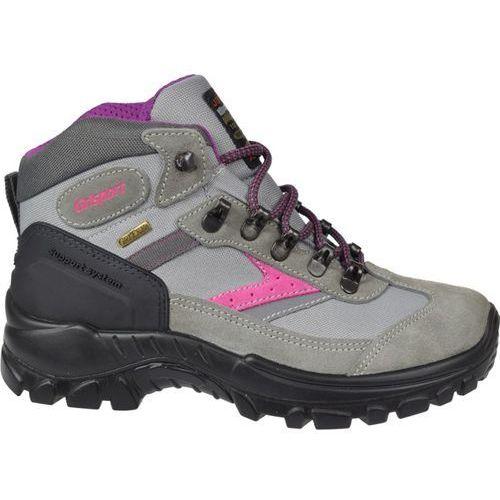 Grisport Damskie buty trekkingowe grigio szare 36