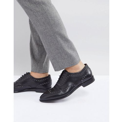 0635ef4af65c9 Hugo appeal lace up leather stud oxford shoes in black - black, Boss -  Sprawdź teraz!
