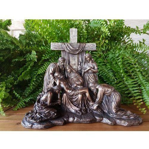 Rzeźba zdjęcie jezusa z krzyża kalwaria  (wu75890a1) marki Veronese