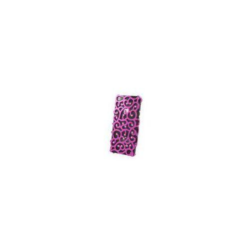 ADVANCED ACCESSORIES Etui ALLURE Diamond dedykowane do Apple iPhone SE/5S/5 - różowe Odbiór osobisty w ponad 40 miastach lub kurier 24h (Futerał telefoniczny)