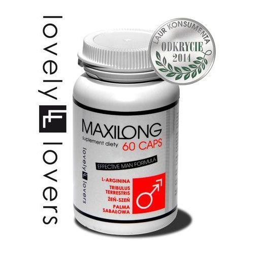 Maxilong 60 kaps. tabletki powiększające penisa 50234, 50234