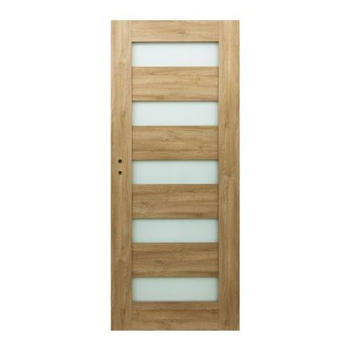 Drzwi pokojowe Borgeno 90 prawe amber (5908443049714)