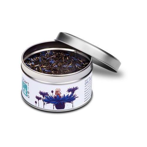 ALBERT TEA Earl Grey Blue Flower - Puszka