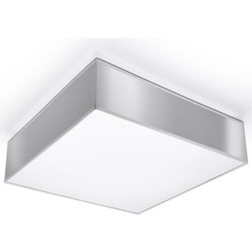 Plafon HORUS 35 biały SL.0137 - Sollux, kolor Szary