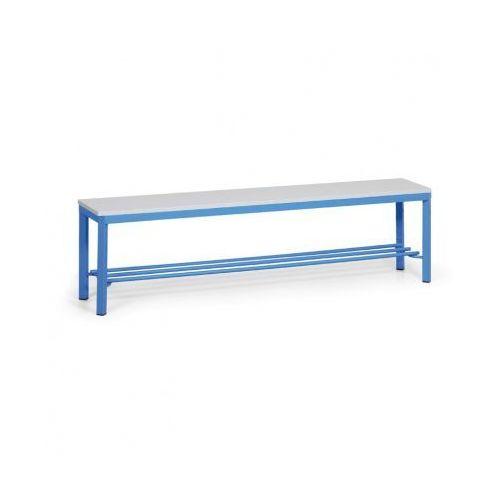 Ławka szatniowa z półką, siedzisko - laminat, 1500 mm marki B2b partner