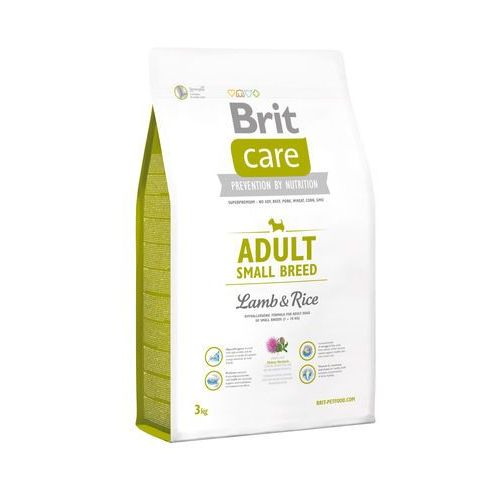 Brit  care adult small breed lamb & rice 3 kg (8594031442363)