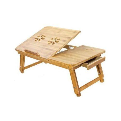Wielofunkcyjny Drewniany (bambusowy) Stolik Pod Laptopa (i nie tylko)... + Wentylacja.