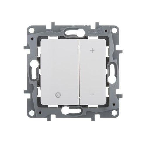 Legrand Ściemniacz przyciskowy niloe 665114 uniwersalny 2-przewodowy biały