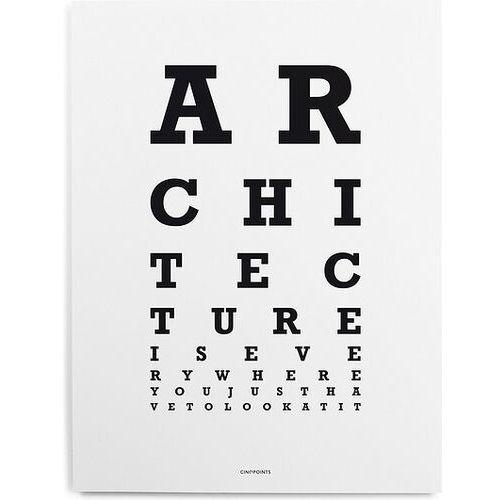 Plakat Architecture Scale, AFFSCA01