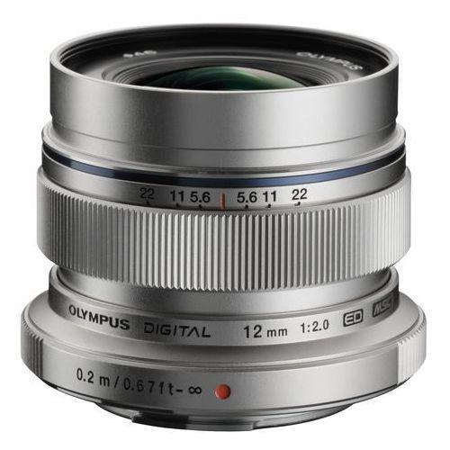 Olympus M.Zuiko Digital ED 12mm f/2.0 (srebrny) (4545350036416)