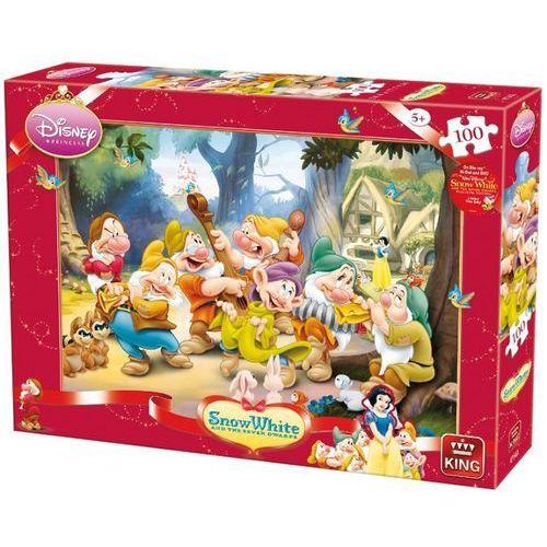 22-004754A Puzzle Królewna Śnieżka i siedmiu krasnoludków - muzyka - PUZZLE DLA DZIECI