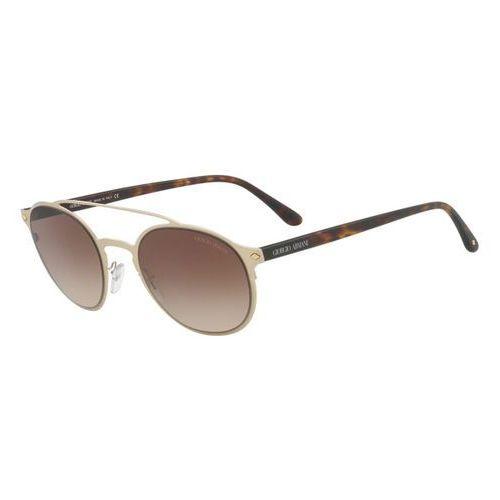 Okulary słoneczne ar6041 frames of life 300213 marki Giorgio armani